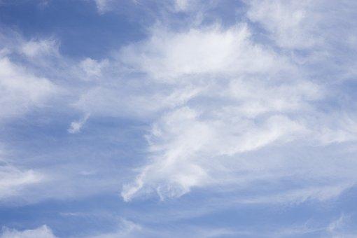 Clouds, Blue, Sky, Nature, Air, Cloud, Atmosphere
