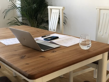 Home Office, Laptop, Workplace, Computer, Work, Digital