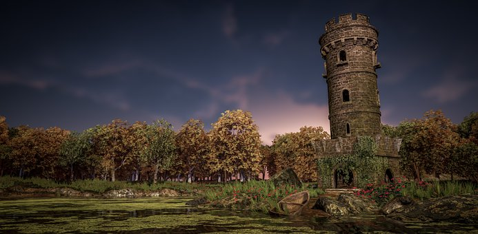 Tower, Medieval, Fantasy, Fortress, Building