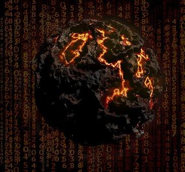 Implode, Destruction, Armageddon, Planet, Apocalypse