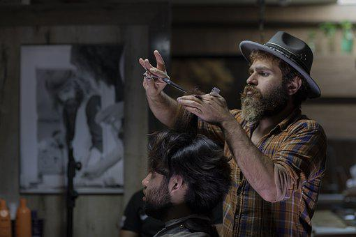 Barber Shop, Iran, Cosmetology, Mashhad, People, Job