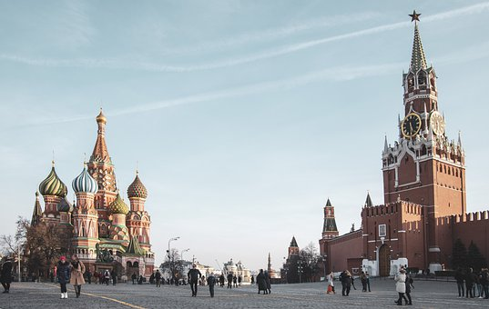 Red Square, Russia, Moscow, Architecture, Kremlin