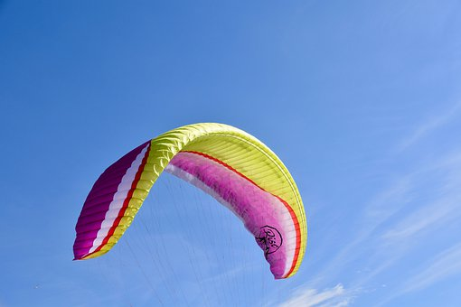 Paragliding, Paraglider Wing, Paraglider, Aircraft