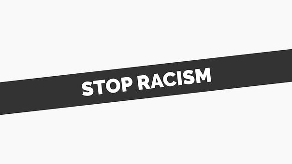 Stop, Racism, Banner, Protest, Discrimination, Peace