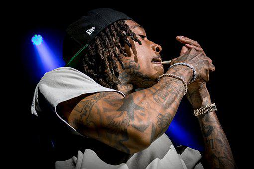 Wiz, Khalifa, Rap, Smoke, Rapper, Rapping, Marijuana