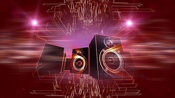 Sound Speakers, Music, Loud, Speaker, Sound