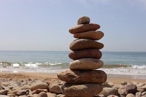 Calm, Relaxation, Horizon, Air, Ocean, Zen, Spiritual
