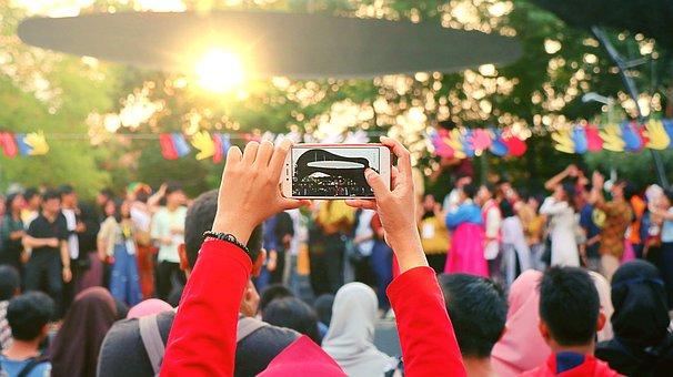 Asian, Selfie, Teen, Girl, Portrait, Young, Tourist