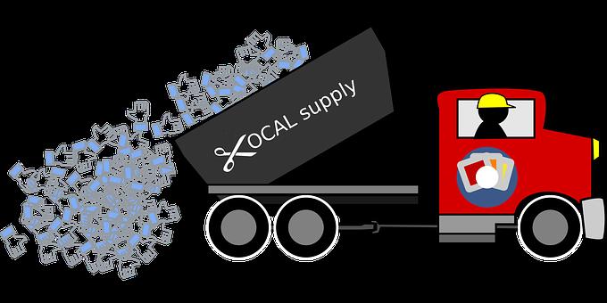 Supply, Truck, Lorry, Transport, Transportation