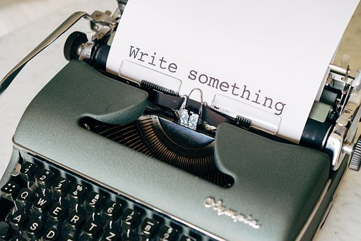 Write, Author, Book, Office, Typewriter, Workplace