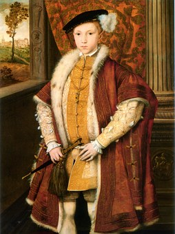 Prince, Wales, 1540, Edward Vi, Purple