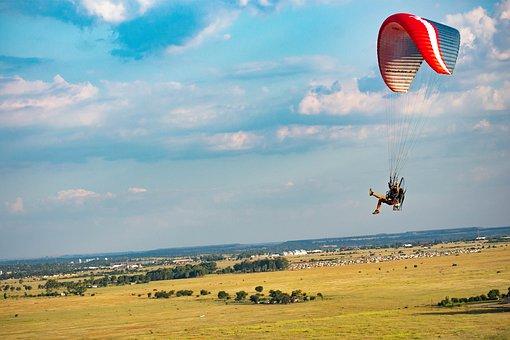 Paramotor, Flight, Paragliding, Flying, Freedom, Wing