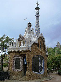 Art, Gaudi, Barcelona, Spain, Fairylike