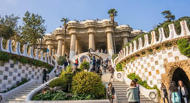 Gaudi, Guell Park, Architecture, Barcelona, Spain