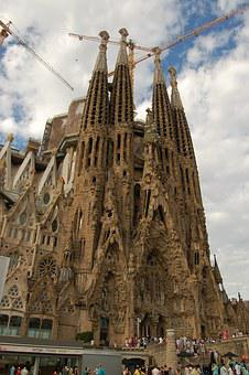 Sagrada Familia, Barcelona, Spain, La Sagrada Familia