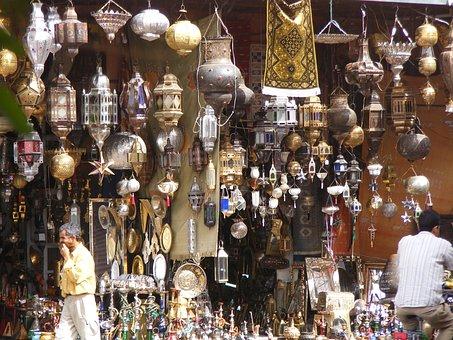 Lamp, Bazaar, Lantern, Traditional, Market, Light