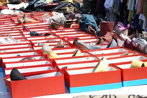 Shoes, Shoe Boxes, Shoebox, Box, Retail, Merchandise