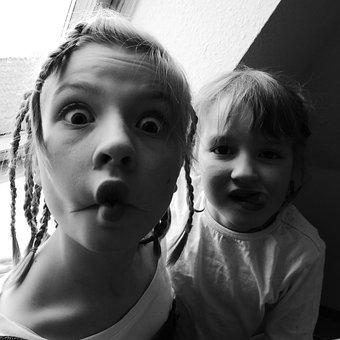 Children, Faces, Making A Face, Facial Expression, Fun