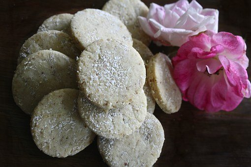 Cookies, Flower, Dessert, Biscuit, Rustic, Cooking
