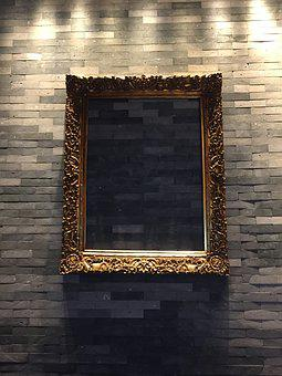 Photo Frame, Art, Abstract, Decoration, Wall, Design