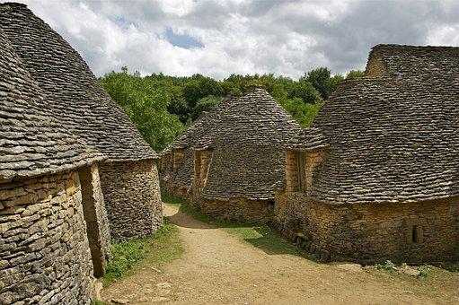 Stone Cottages, Cottages, Dry Stone Masonry