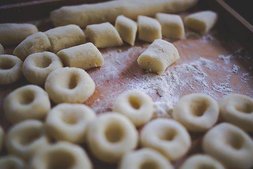 Silesian, Dumplings, Food, Polish, Potato, Crude