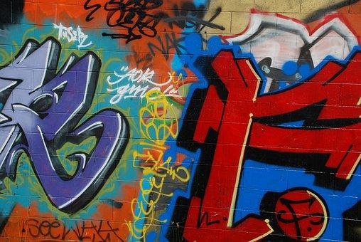Graffiti, Urban, Streets, Gangs, Criminal, Youth