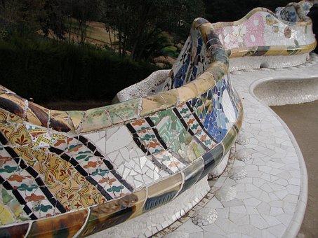Guell Park, Barcelona, Guell, Park, Culture, Gaudí