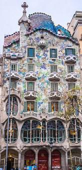 Gaudi, House, Spain, Europe, Building, Barcelona