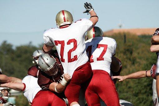Football, American Football, Linemen, Lineman, Defense