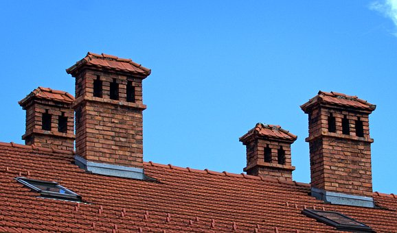 Chimney, Old, Architecture, Fireplace, Roof, Building