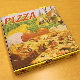 Pizza, Pizza Carton, Pizza Service, Pizza Box, Delivery