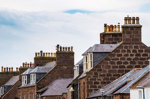 Homes, Building, Roofs, Architecture, City, Old
