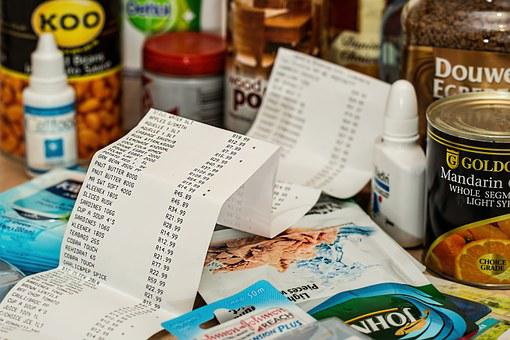 Shopping, Spending, Till Slip, Purchase, Retail, Shop
