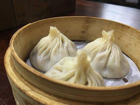 Dumplings, Chinese Food, Snack, Asian, Cooking