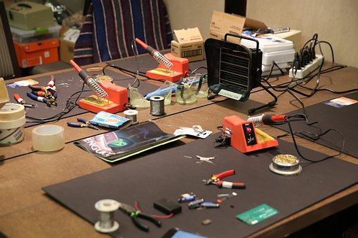 Solder Station, Arduino Kit, Electronics, Circuit Board