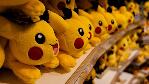 Pikachu, Pokemon, Store, Pokemon Store, Japan