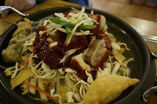 Soup, Toppokki, One Of The Squid, Sukiyaki Toppokki