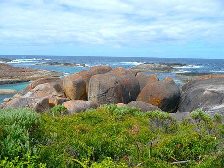 Rocks, Nature, Landscape, Tourist Attraction, Water
