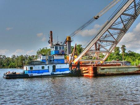 Boat, Work Boat, Tug, Water, Vessel, Nautical, Marine
