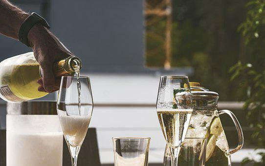 Drink, Alcohol, Champagne, Glass, Bottle, Celebrate