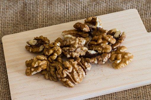 Walnut, Walnuts, Nuts, Nut, Food, Brown, Healthy, Eat