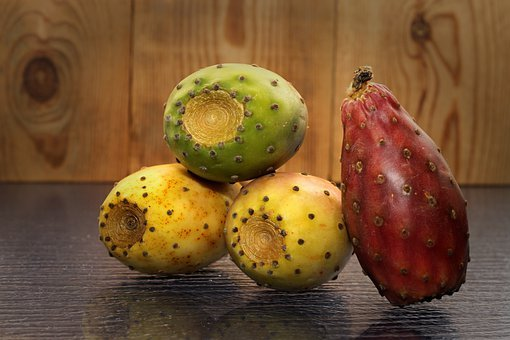 Prickly Pear, Fruit, Cactus, Nature, Vegetables, Food