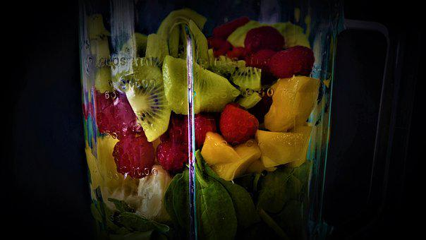 Smoothie, Fruit, Vegetables, Healthy Food, Fresh