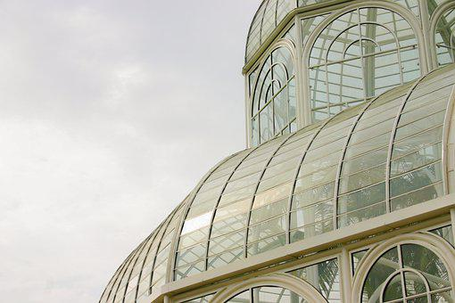 Greenhouse, Sky, Bloom, Nature, Clouds