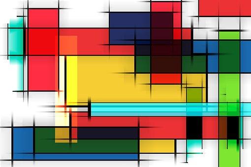 Color, Rectangle, Square, Colorful