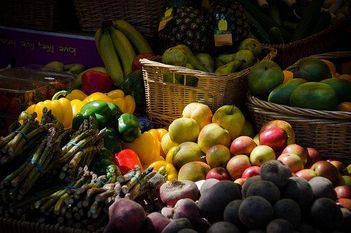 Fruit, Vegetables, Food, Pumpkin, Salad, Health