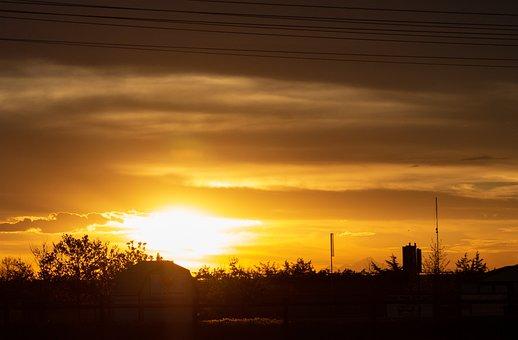 Sunrise, Sun, Morning, Sky, Clouds