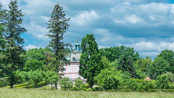 Summer Day, Forest, Landscape, Historical, Saxony
