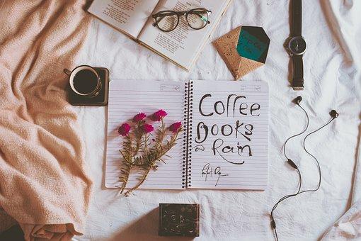 Coffee, Computer, Mockup, Poetry, Tea, Desktop, Table